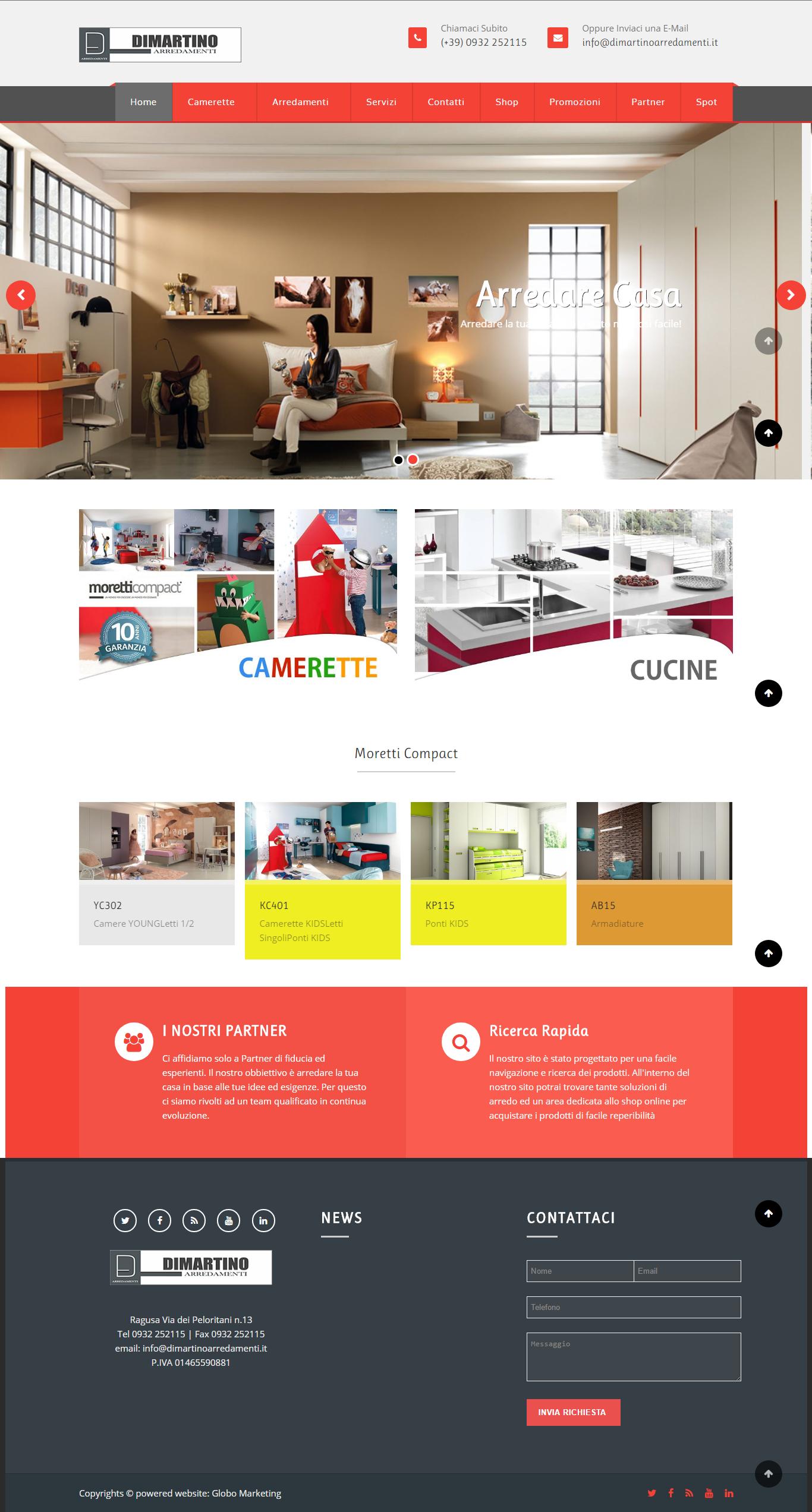 Siti per la casa fabulous realizziamo siti responsive ben for Siti mobili casa